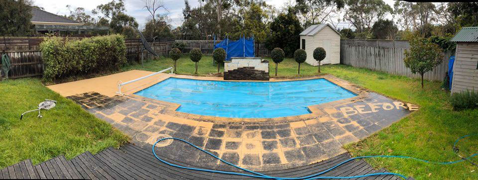 Before-Pool Clean