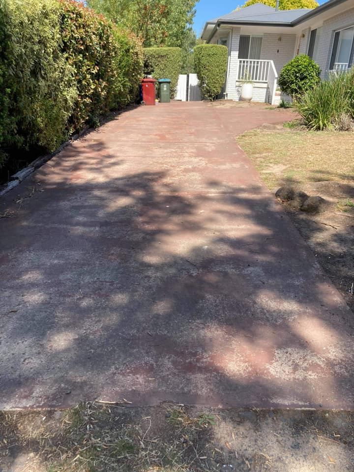 Before-High Pressure Cleaning